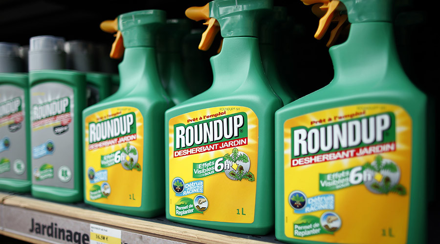 Produk Roundup oleh Monsanto.