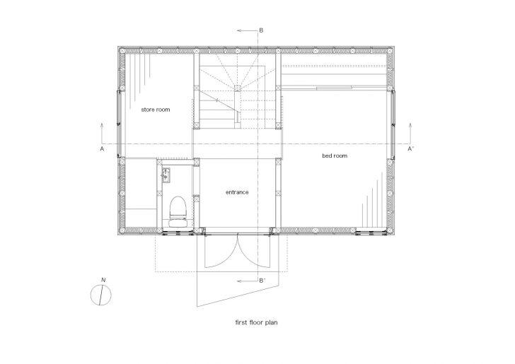 Pelan lantai tingkat 1