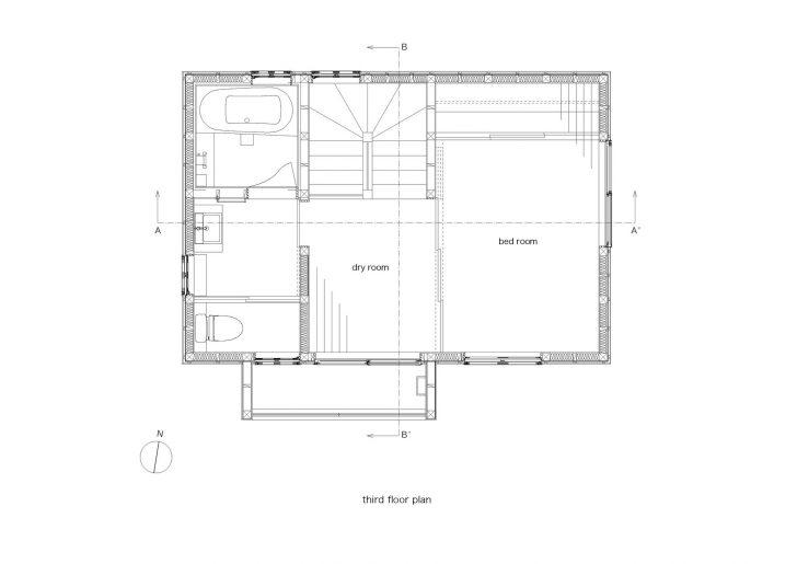 Pelan lantai tingkat 3