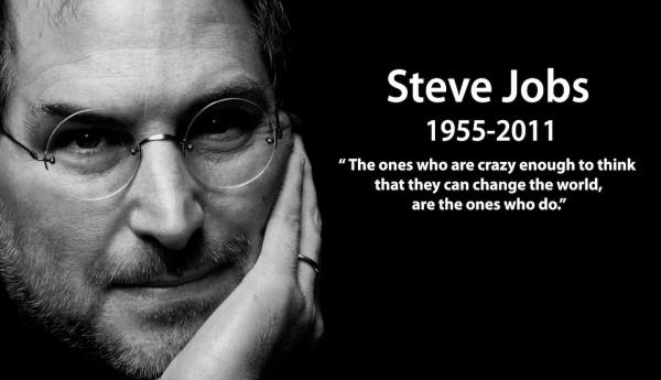 Hanya orang yang cukup gila, boleh mengubah dunia.