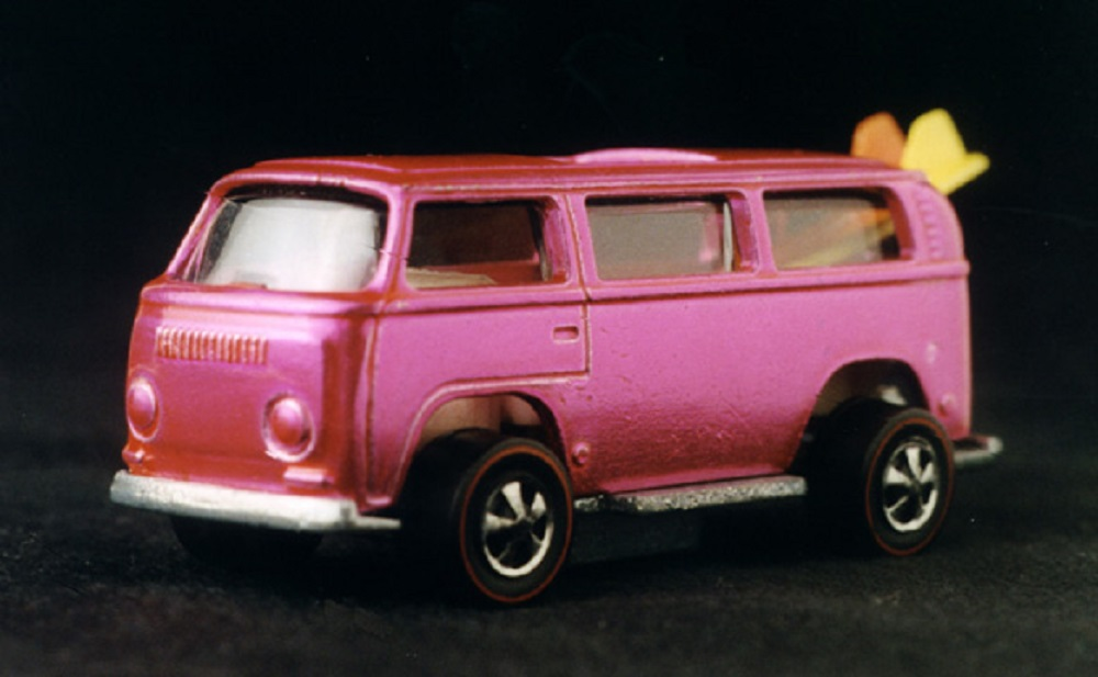 1969 Hot Wheels Volkswagen Beach Bomb, owned by Bruce Pascal.