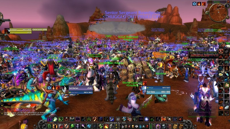 Dunia 'World Of Warcraft'