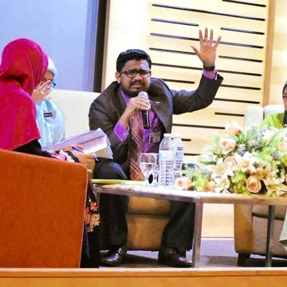 Penulis, Dr Abdul Rahman.