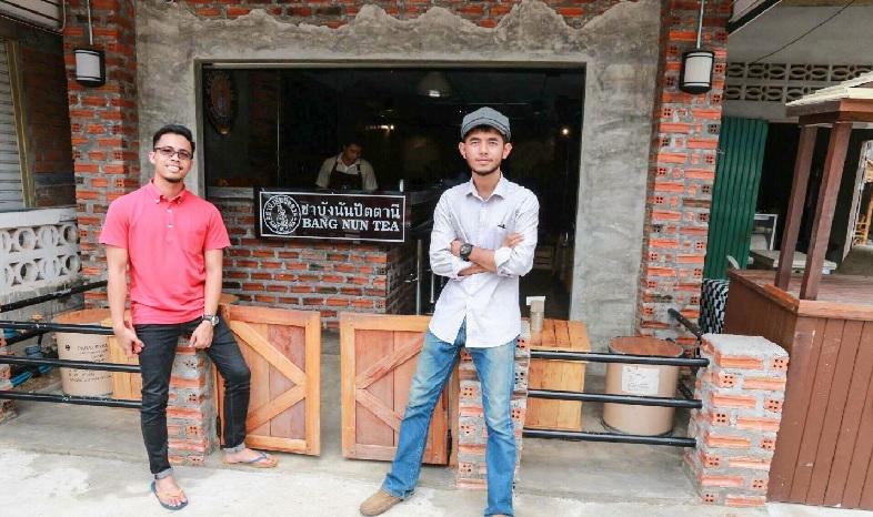 Kafé hipster Bang Nun di Narathiwat