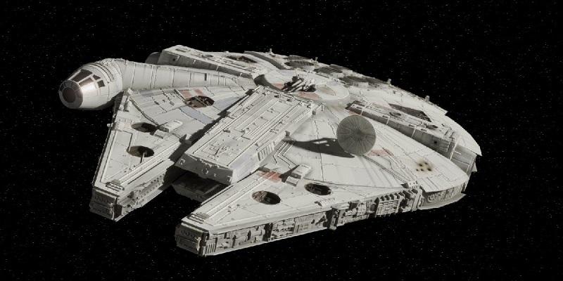 The Millennium Falcon milik Han Solo