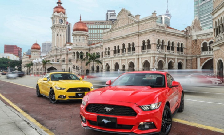 mustang msia