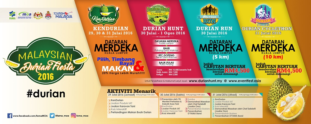 POSTER PROMO DURIAN FIESTA Small