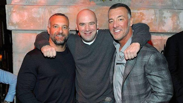 Lorenzo dan Frank Fertitta bersama Dana White