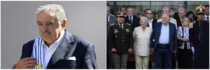 Mujica ketika dilantik sebagai presiden Uruguay yang ke-40