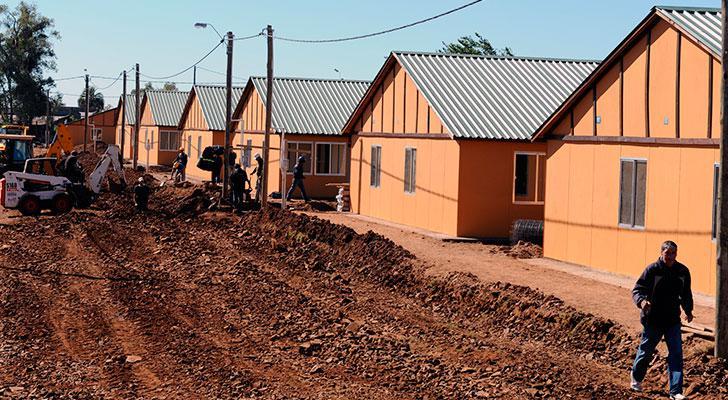Rumah mampu milik untuk rakyat Uruguay yang telah siap dibina