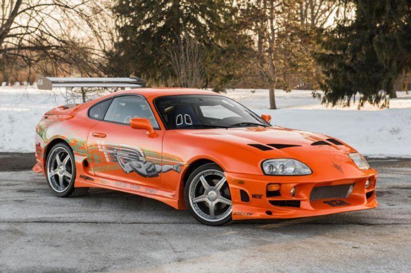 Toyota Supra Paul Walker, Fast & Furious