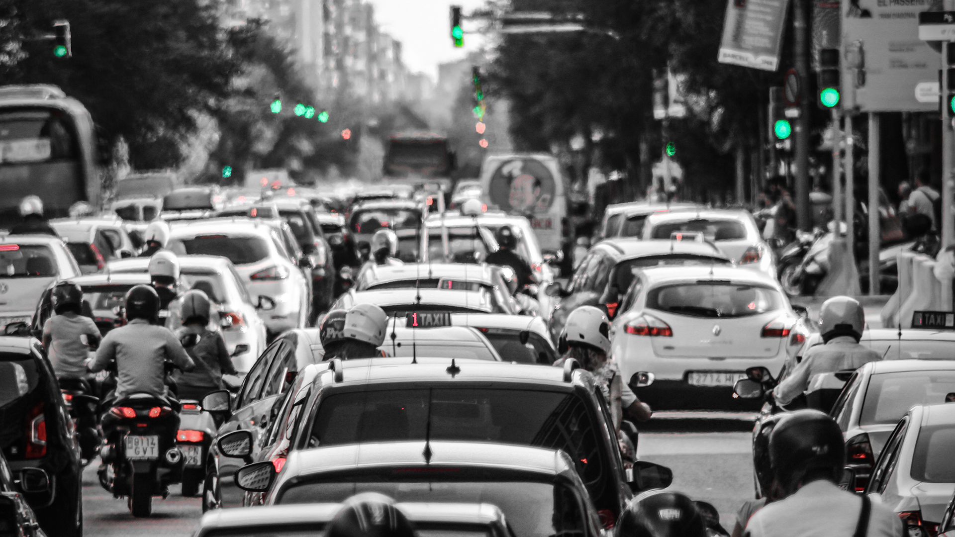 Trafikk-spania