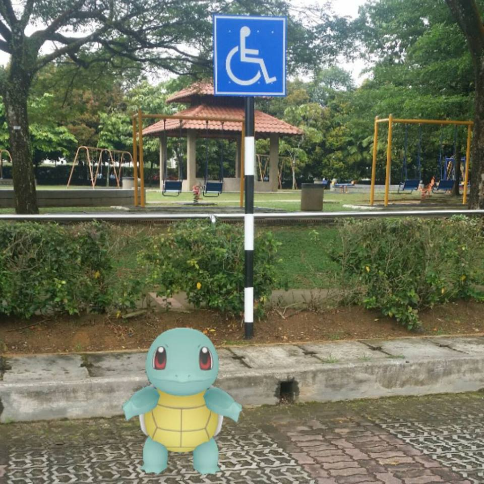 Pokemon Go di Malaysia.
