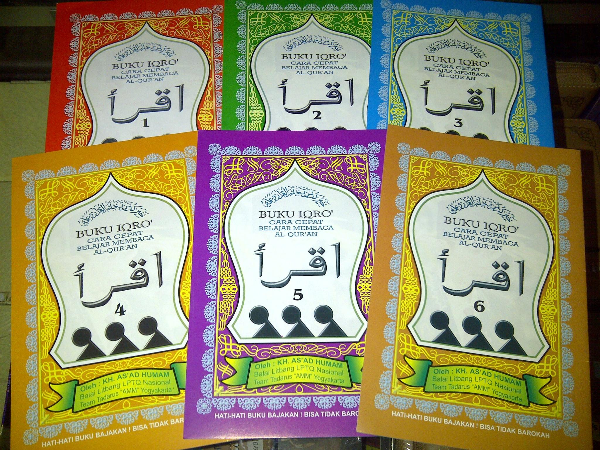 Naskah-naskah Iqra'. Tokopedia.