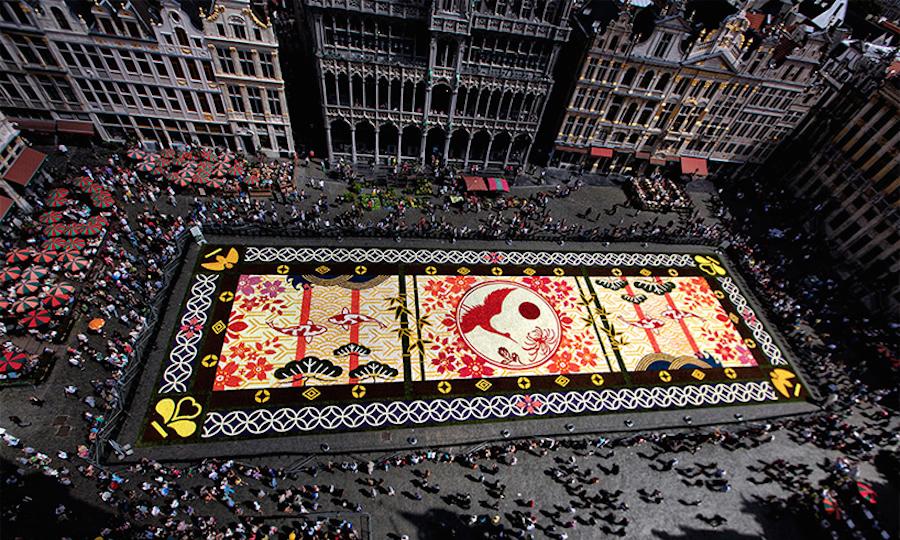 karpet bunga
