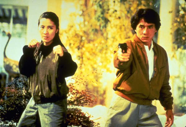 Jackie Chan dan Michelle Yeoh (Police Story 3)