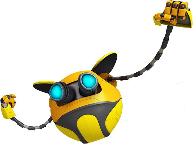 Ochobot, power sphera kesayangan Boboiboy.