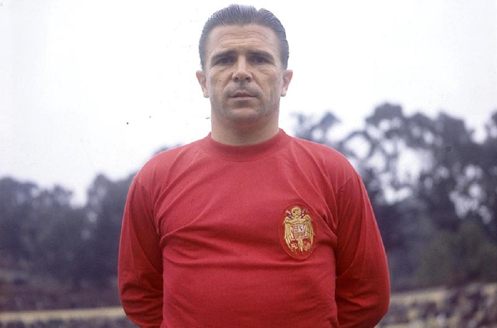 Date Unknown. Ferenc Puskas of Real Madrid.Credit: Offside/L'Equipe.