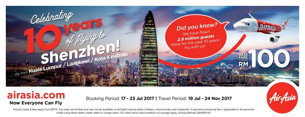 AirAsia Shenzhen 10 Anniversary