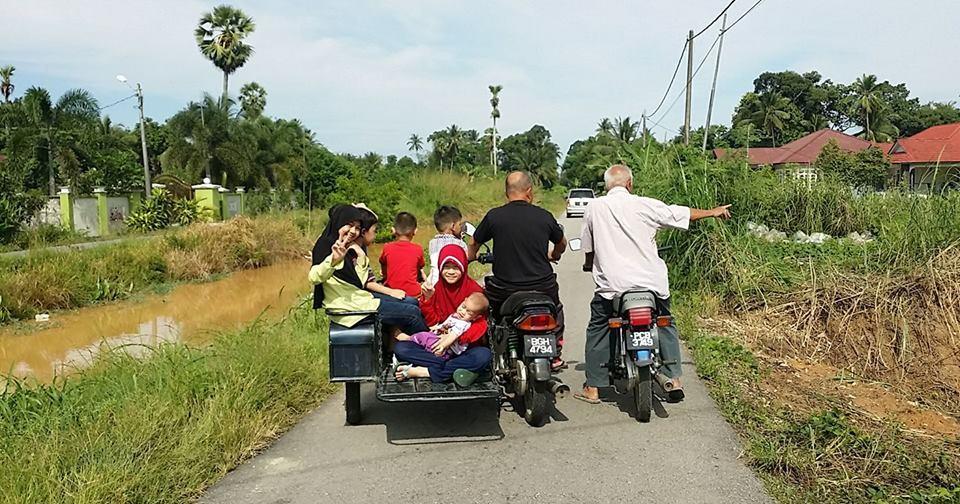 motosikal abah