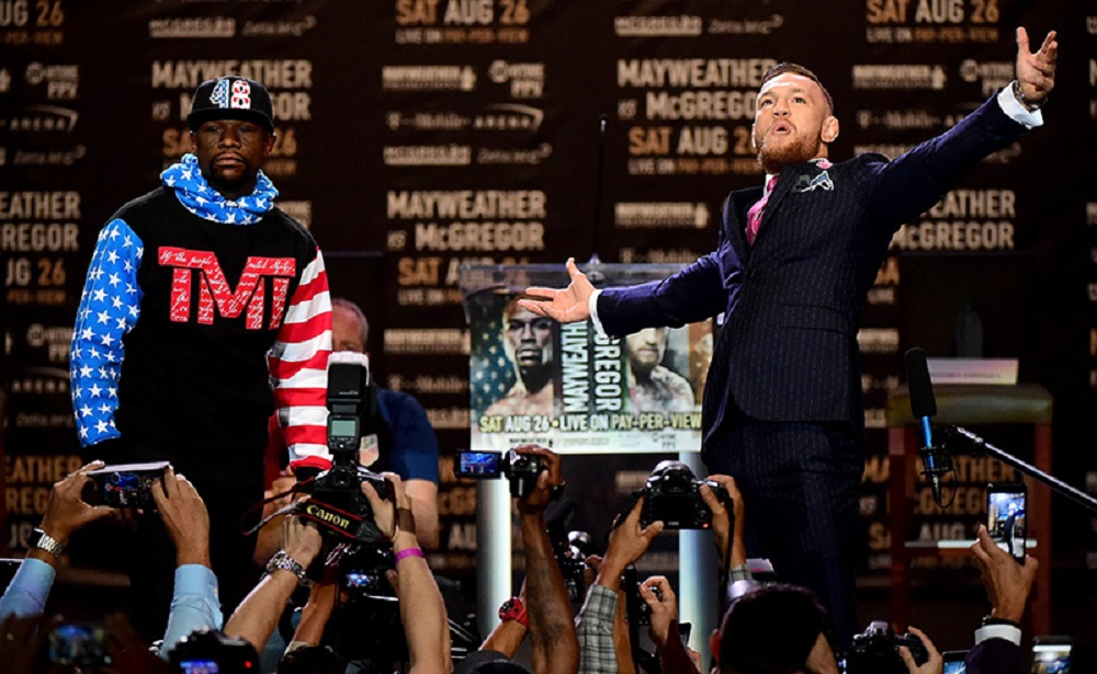 Floyd Mayweather Jr. v Conor McGregor World Press Tour – Los Angeles