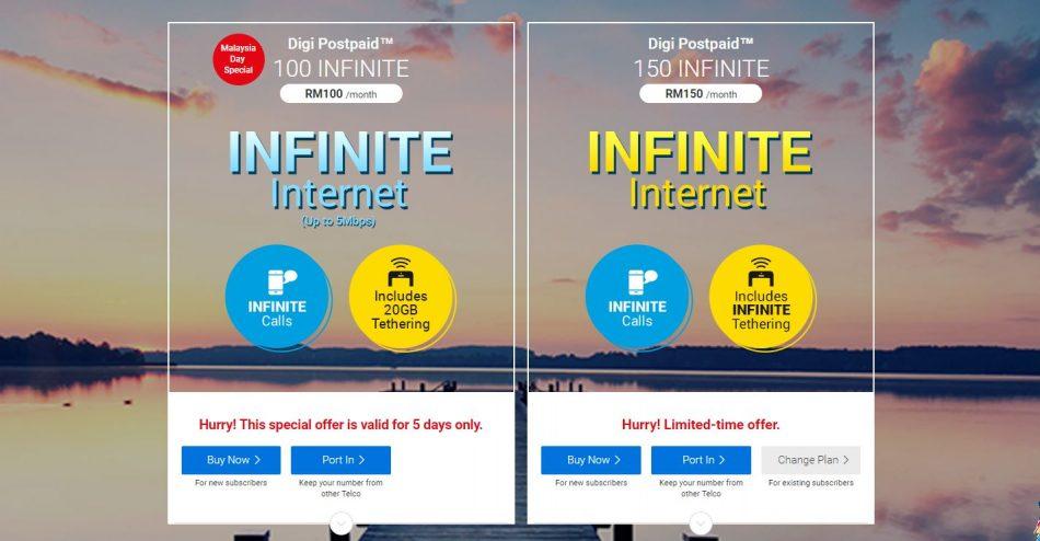 Digi Postpaid Infinite 100
