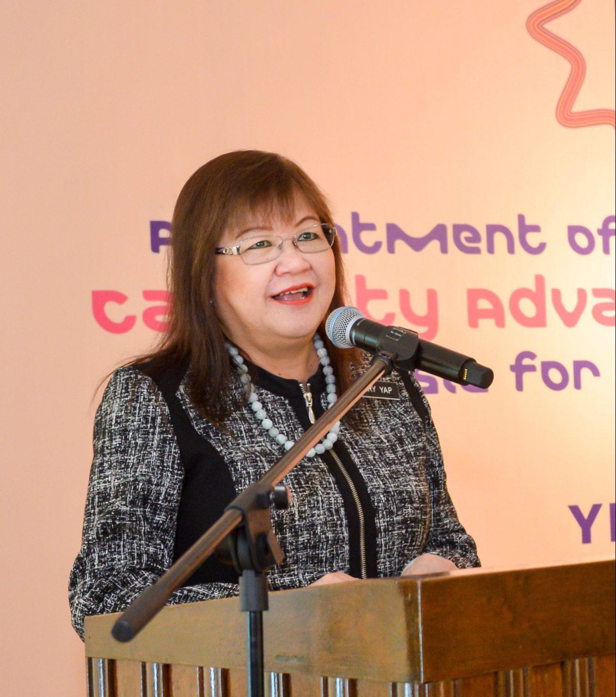 Turut terlibat Yang Berhormat Datuk Dr Mary Yap Kain Ching selaku Timbalan Menteri Pendidikan Tinggi Malaysia