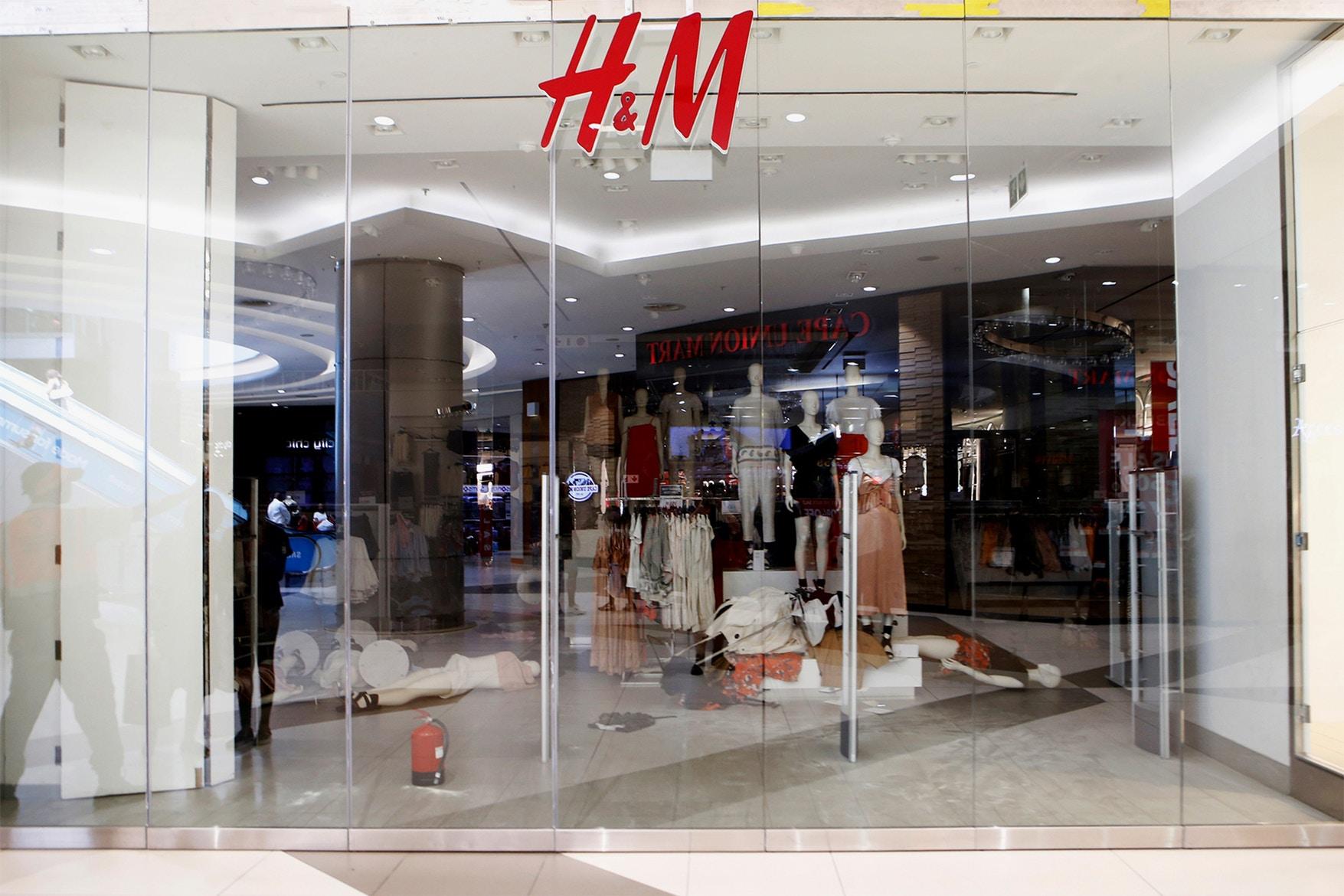 h&m baju