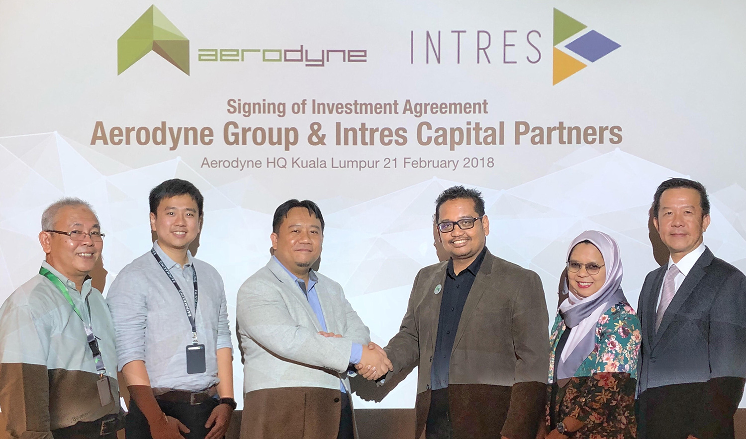 Axiata Innovation Fund and Aerodyne