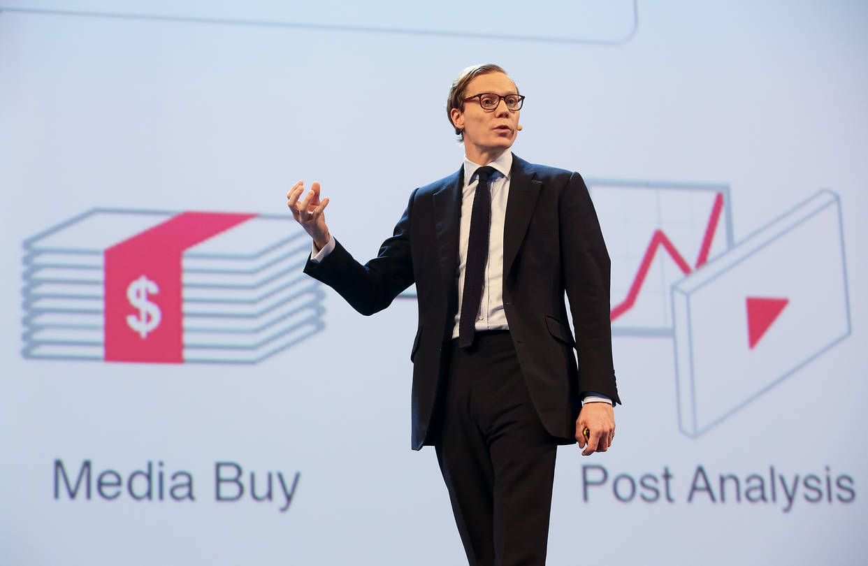 Alexander Nix, CEO Cambridge Analytica