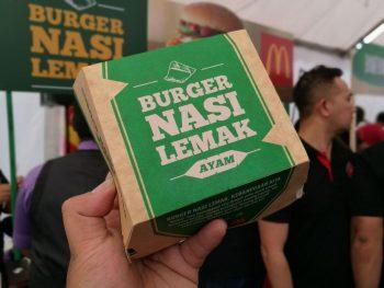 Burger Nasi Ayam McD 4