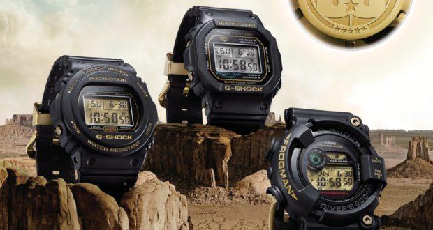 Casio G-SHOCK Anniversary Timepieces
