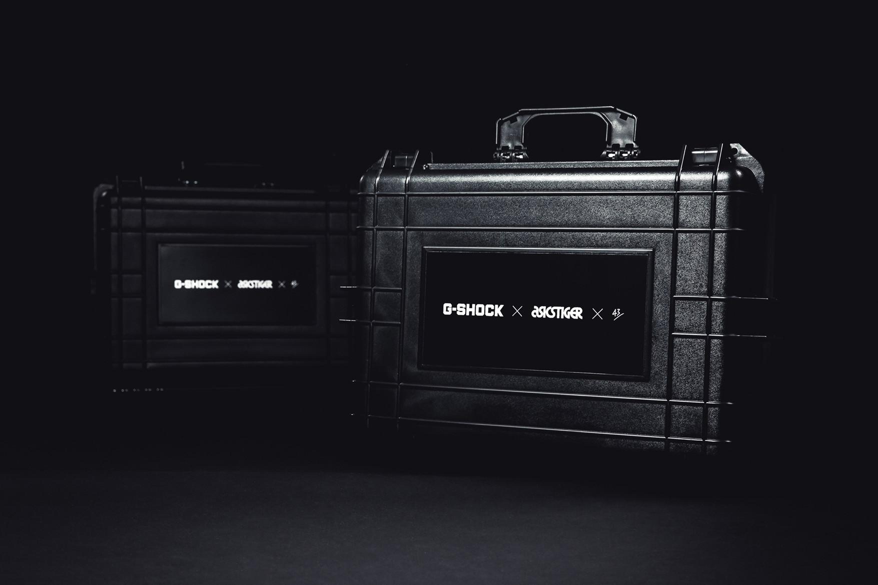 G- Shock x Asics 6