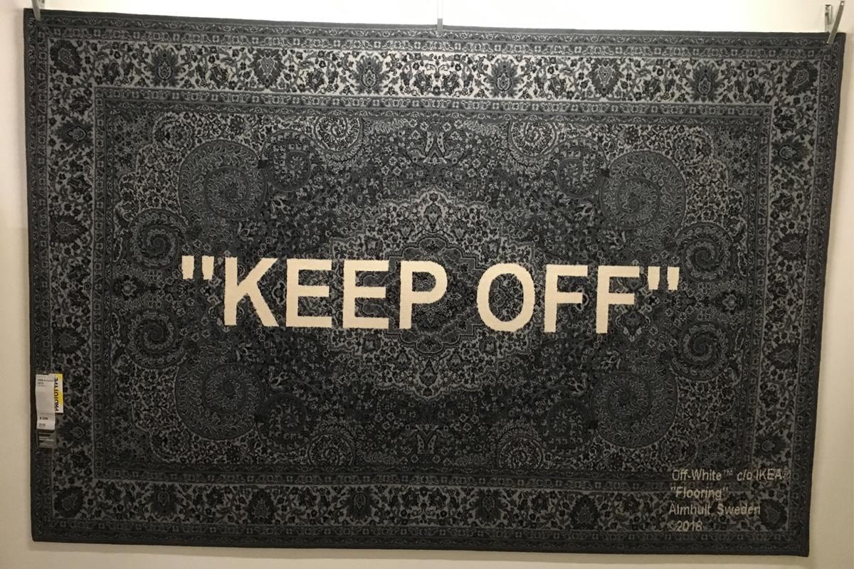 Ikea Keep off