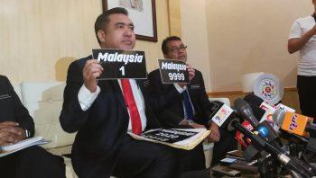 JPJ Malaysia Plat
