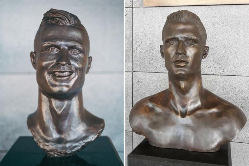 Ronaldo Patung New