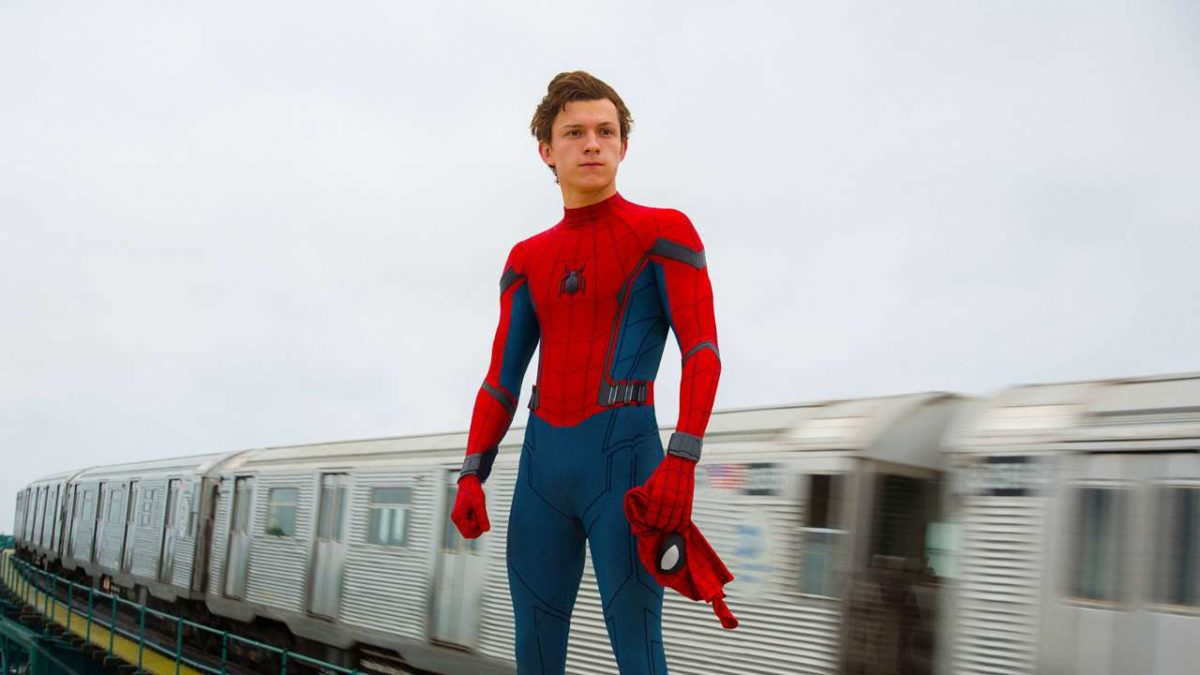 tom holland spidery