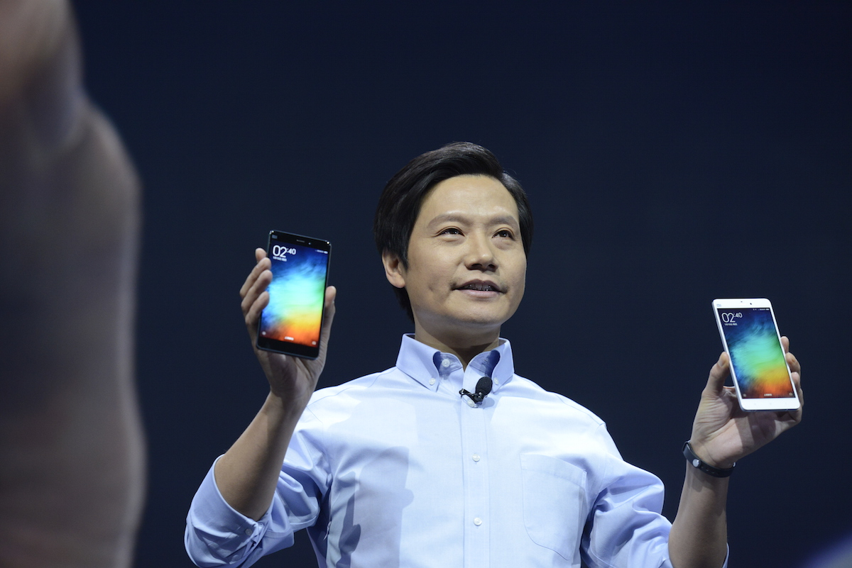 Lei Jun Attends Xiaomi Inc., New Product Beijing Press Conference