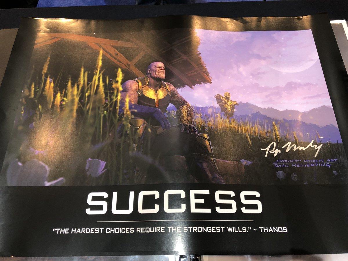 Poster Motivasi Thanos