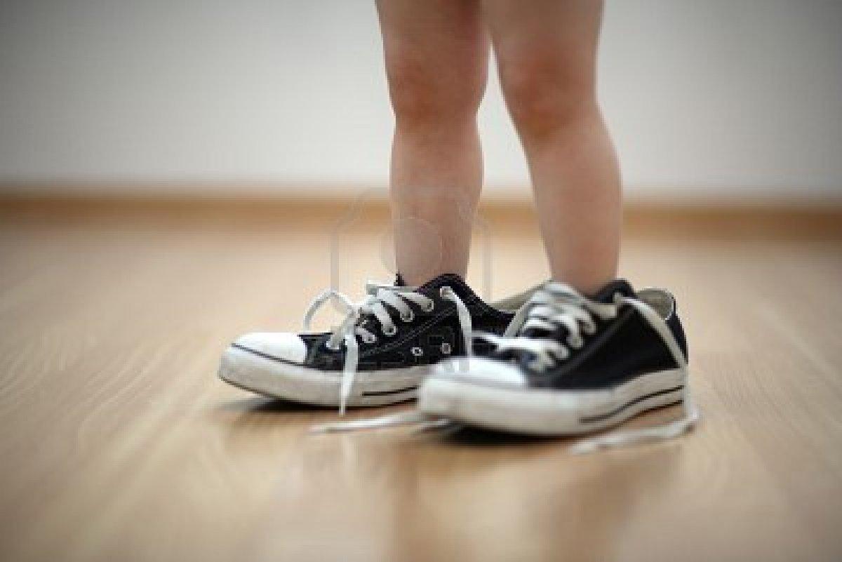 shoes too bigh