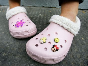Crocs shut