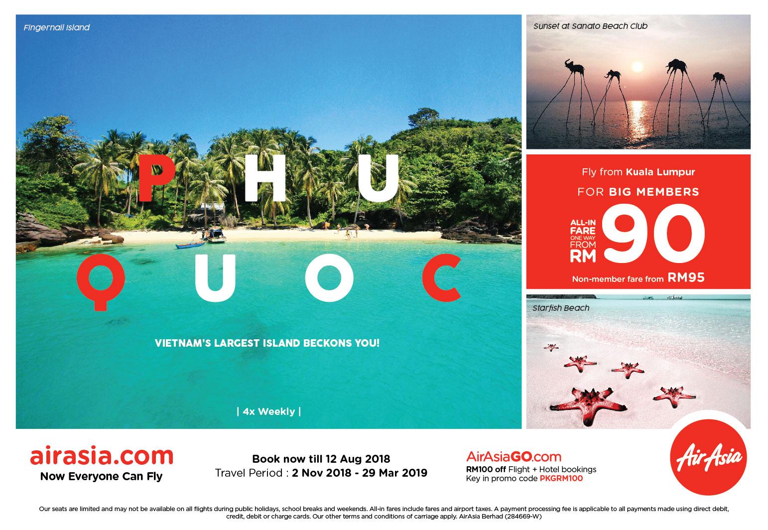 Kuala Lumpur – Phu Quoc