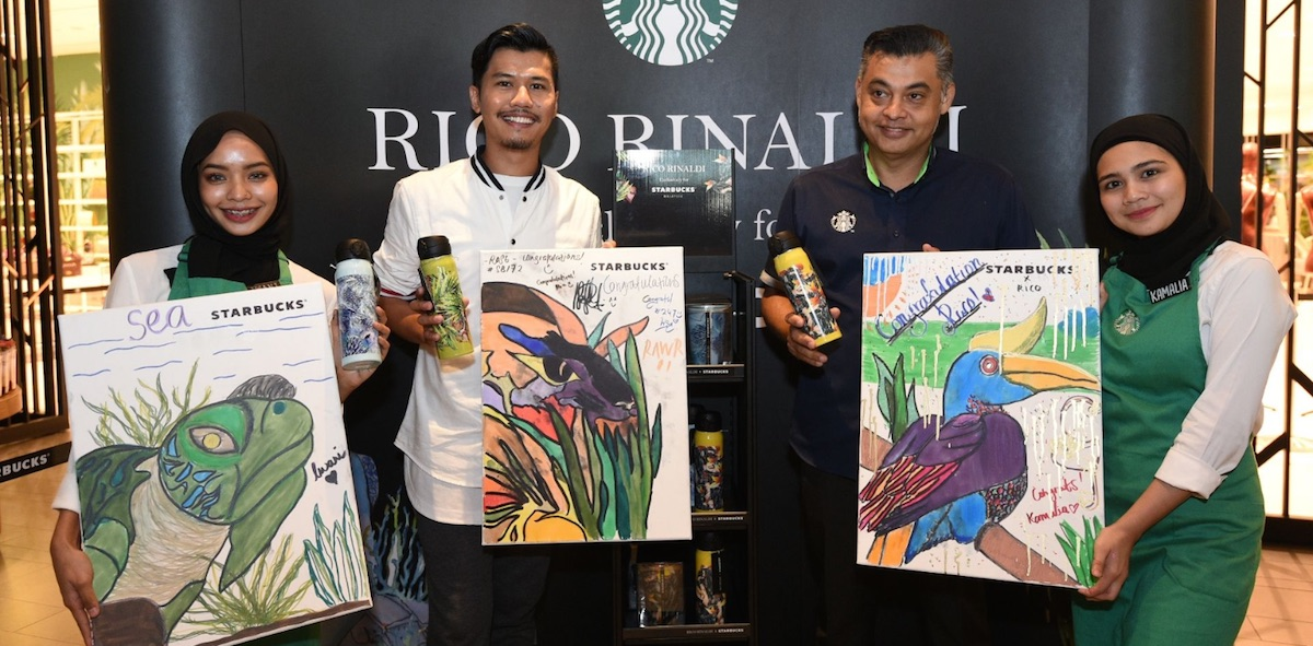 Starbucks Malaysia Rico Rinaldi