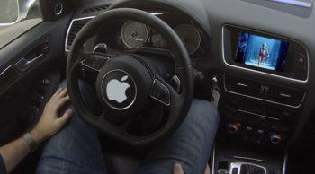 apple self driving car