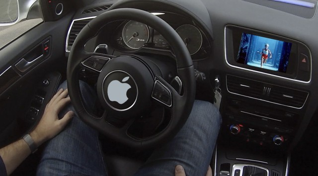 apple self driving car