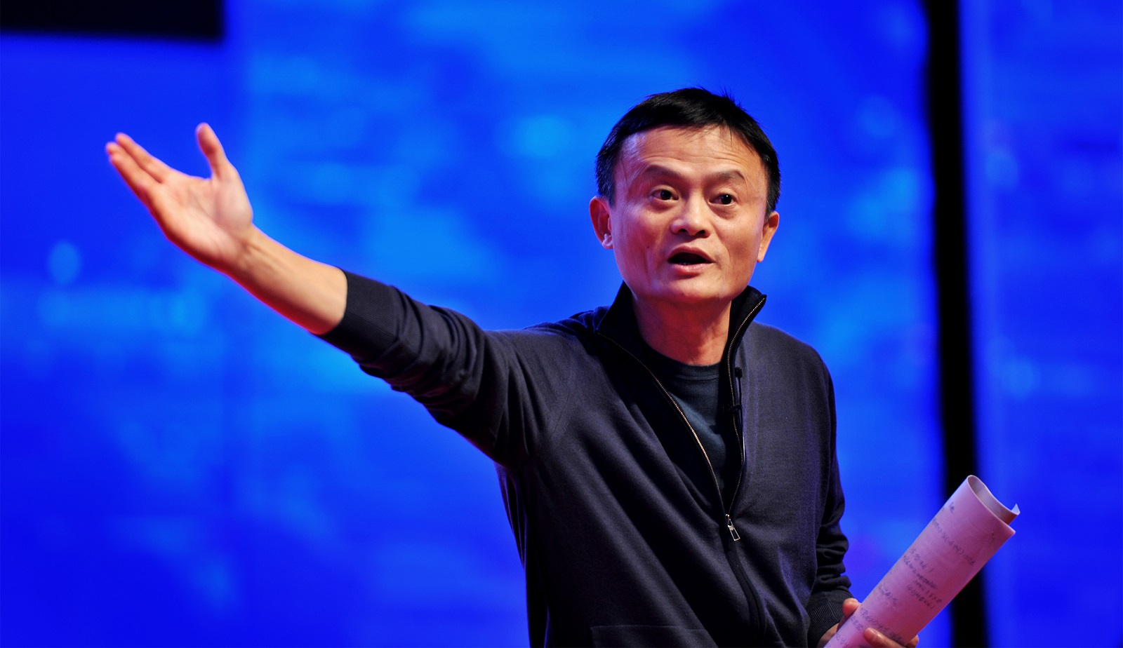 Jack Ma Makes Speech On The Zhejiang Entrepreneurs Association