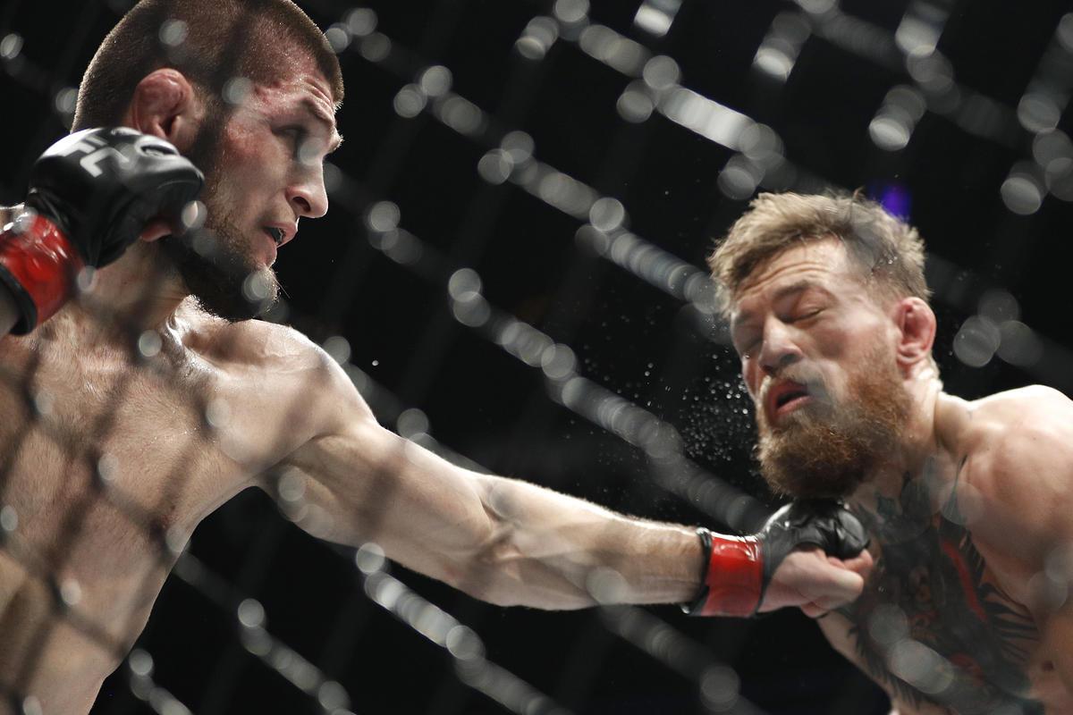 Khabib Nurmagomedov, Conor McGregor
