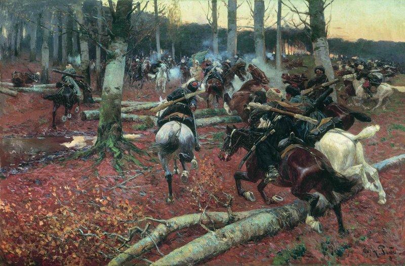 Roubaud._Scene_from_Caucasian_war