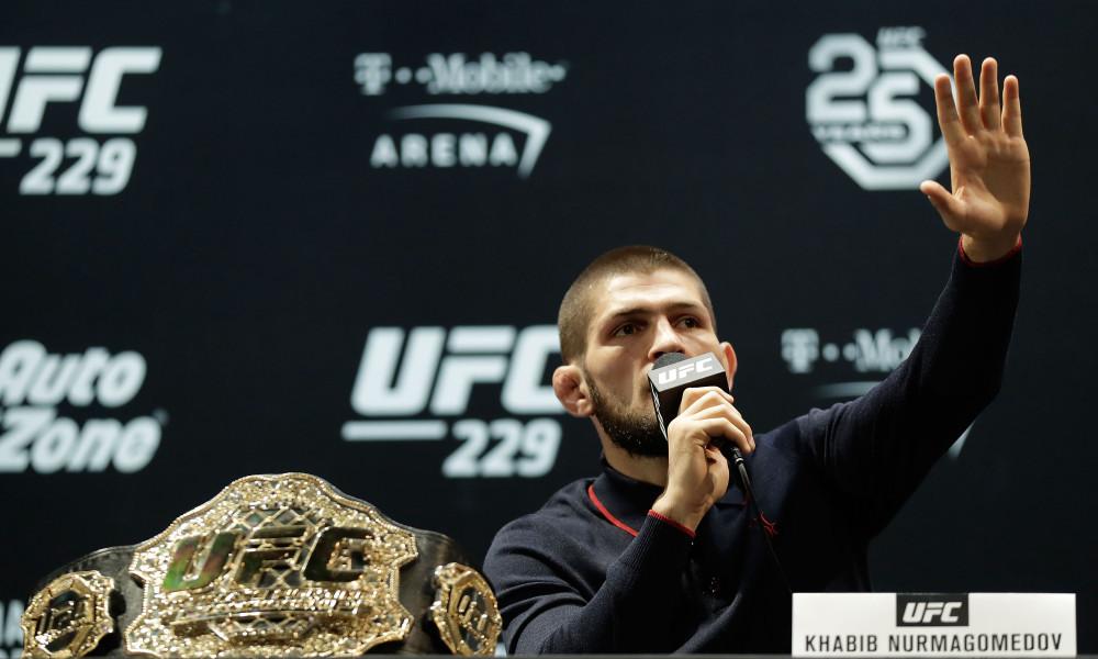 UFC 229 Khabib v McGregor: Press Conference