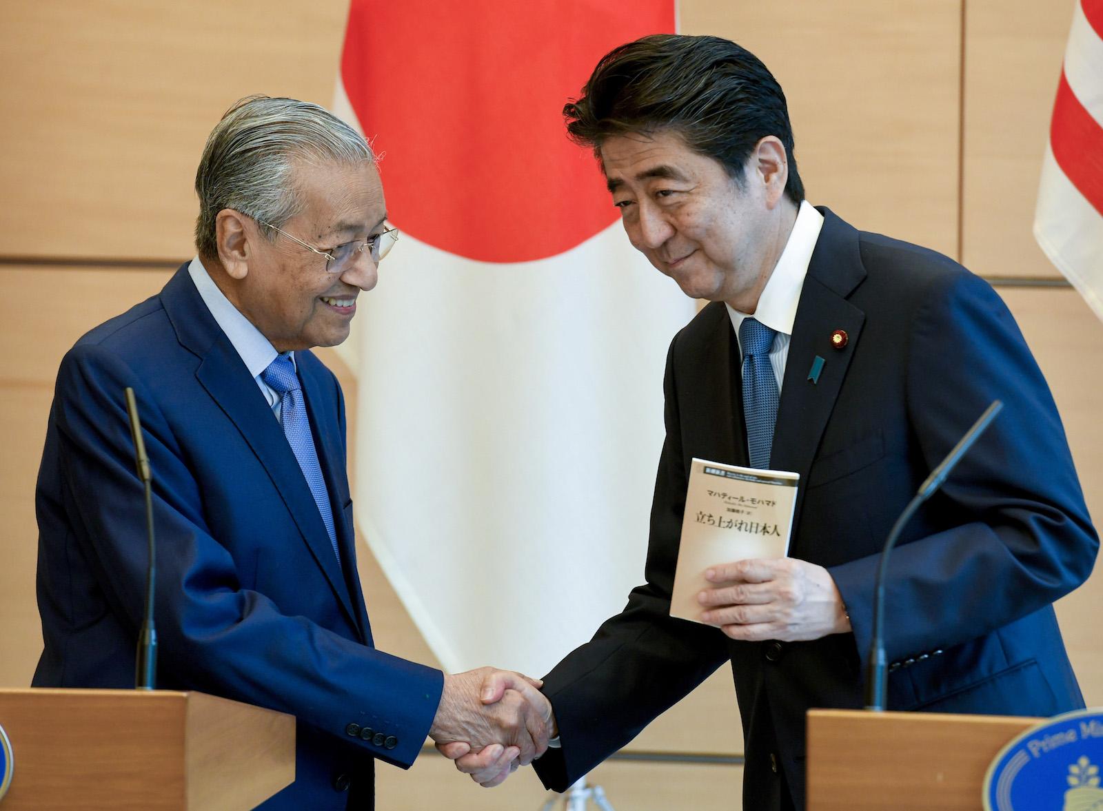 JAPAN-MALAYSIA-DIPLOMACY